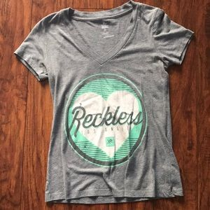 Young and reckless t shirt